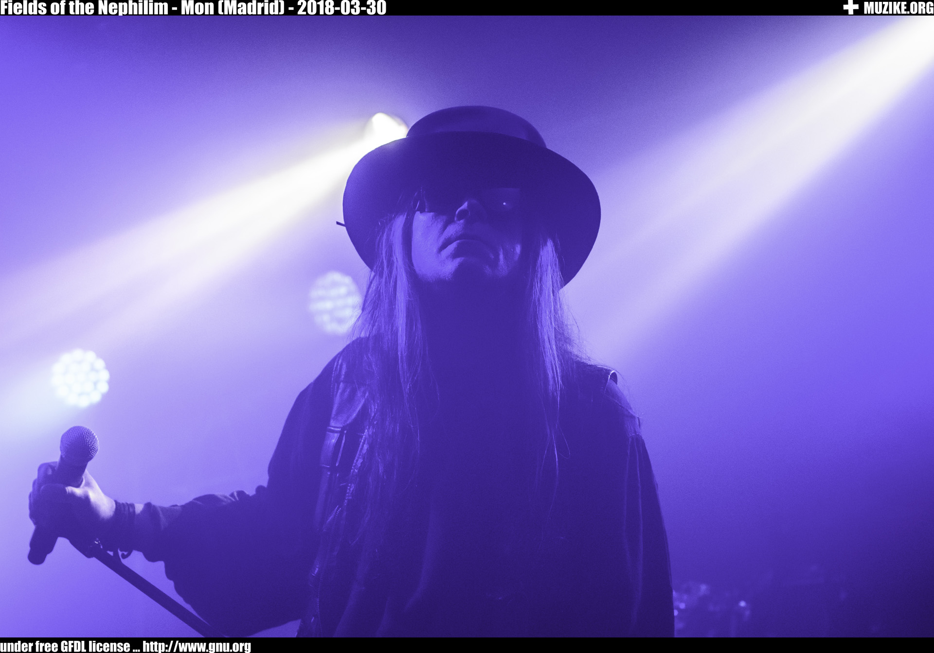 Fields of the Nephilim - Mon (Madrid)